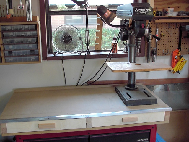 re stainless steel workbench top suggestions